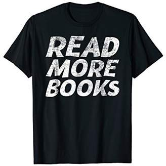 Read More Books T-Shirt Funny Brain Food Reading