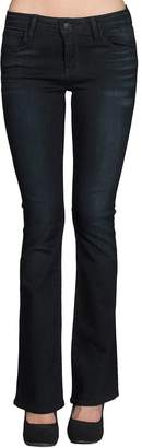 just black Skinny Bootcut Jean