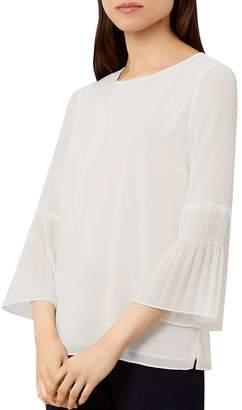 Hobbs London Harriet Bell-Sleeve Top