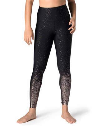 Beyond Yoga Alloy Ombre High-Waist Midi Leggings