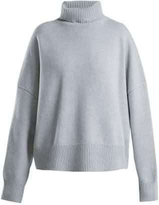 Nili Lotan Serinda roll-neck wool and cashmere-blend sweater