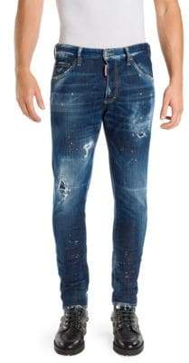 DSQUARED2 Dan Distressed Jeans