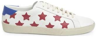 Saint Laurent Star Leather Low-Top Sneakers