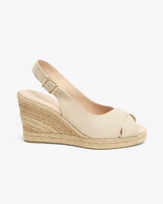 Phase Eight Lana Peep Toe Espadrille Wedge Shoes