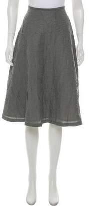 Behnaz Sarafpour Silk Knee-Length Skirt