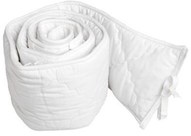 Argington BamBam Organic Bassinet Bumper-White
