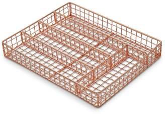 Williams-Sonoma Copper Flatware Tray