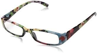 Sight Station Women's Janey 1014304-100.COM Rectangular Reading Glasses