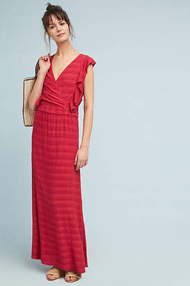 Michael Stars Flutter-Sleeve Maxi Dress