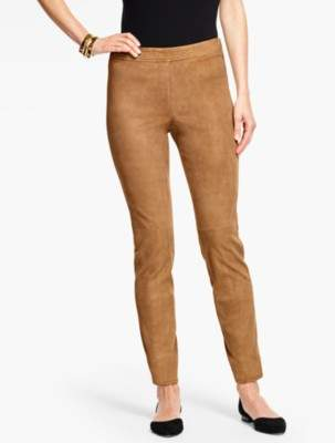Talbots Suede Leggings