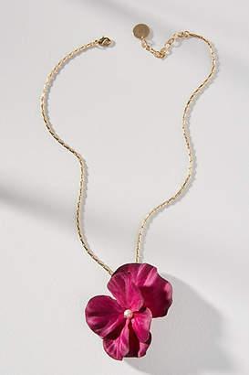 Anton Heunis Floral Arrangement Pendant Necklace