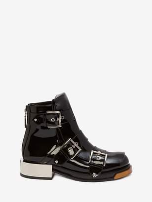 Alexander McQueen Buckle Boot