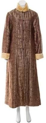CF. Goldman Floral Long Coat