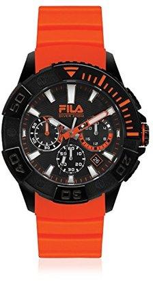 Fila (フィラ) - Filaダイビングオレンジアナログダイヤルメンズクロノグラフ腕時計 – 38 – 040 – 002