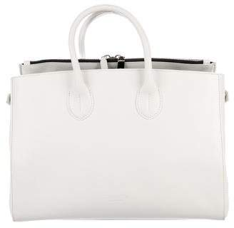 Calvin Klein Leather Handle Tote