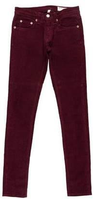 Rag & Bone Low-Rise Corduroy Pants