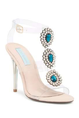 Betsey Johnson Sylvi Embellished Ankle Strap Sandal