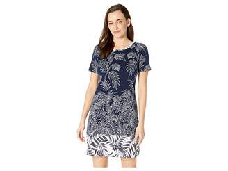 Tommy Bahama Fronds Have More Fun Short Sleeve Dress