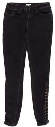 Claudie Pierlot Mid-Rise Skinny Jeans