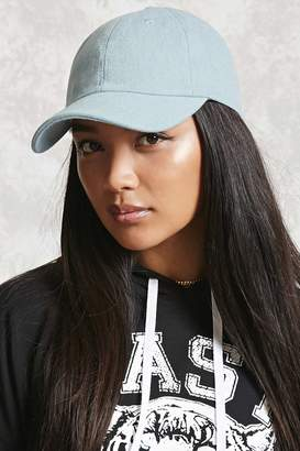 Forever 21 Denim Baseball Cap