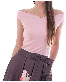 Ted Baker Byria V Neck Fitted Top