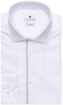 Ryan Seacrest Distinction Men Evening Collection Ultimate Slim-Fit Non-Iron Performance Stretch Solid Dress Shirt