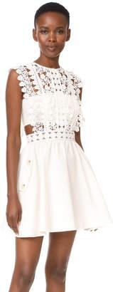 Self Portrait Floral Vine Mini Dress $445 thestylecure.com