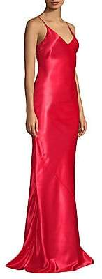 Jason Wu Collection Women's Liqud Satin Slip Gown