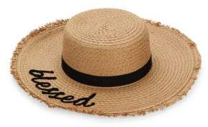 MARCUS ADLER Blessed Verbiage Sun Hat