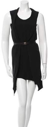 Marni Belted High-Low Dress