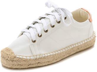 Soludos Platform Tennis Sneakers $159 thestylecure.com