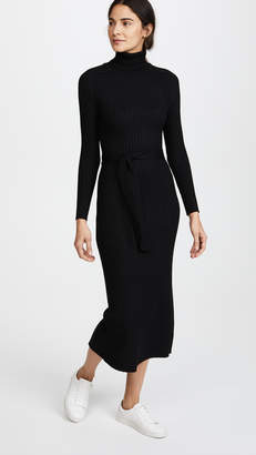 Tome Long Sleeve Turtleneck Maxi Dress