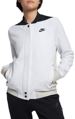 Nike Colourblocked Front Snap Jacket