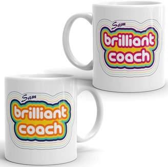 Coach Flaming Imp Personalised Brilliant Ceramic Mug