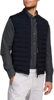 Ermenegildo Zegna Men's Light Padding Microfiber Vest
