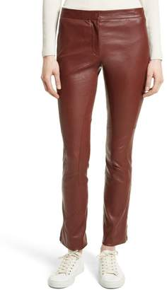 Theory Bristol Leather Riding Pants