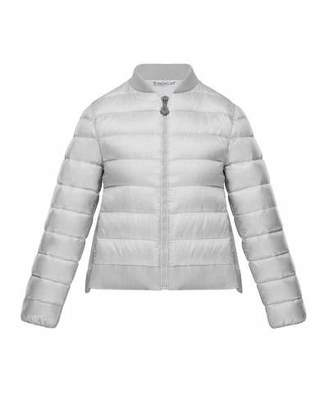 Moncler Kamelie Lightweight Jacket w/ Back Bow, Size 4-6