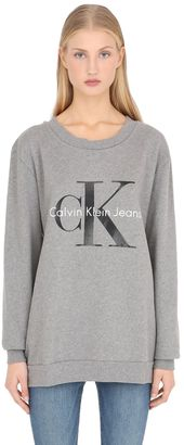 True Icon Terrycloth Cotton Sweatshirt $120 thestylecure.com