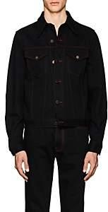 "Calvin Klein Men's ""Dennis Hopper"" Denim Trucker Jacket - Black"