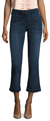 3x1Military Crop Baby Boot Cut Jean