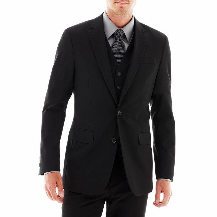 Jf J.Ferrar JF Stretch Gabardine Suit Jacket - Super Slim