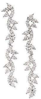 Fallon Pave Micro-Vine Drop Earrings