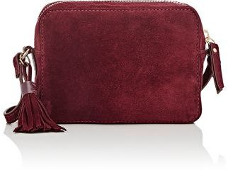 Barneys New York Women's SAMPLE Camera Bag-BURGUNDY $225 thestylecure.com