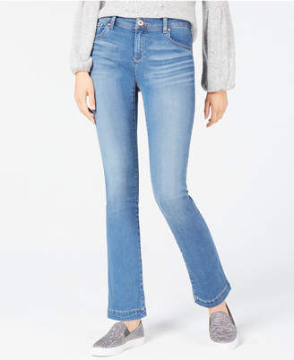 INC International Concepts I.n.c. Petite Tummy Control Bootcut Jeans, Created for Macy's