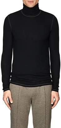 ATM Anthony Thomas Melillo Men's Rib-Knit Turtleneck Shirt
