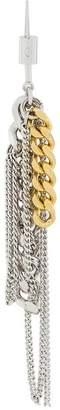 MM6 MAISON MARGIELA chain link dangling earrings