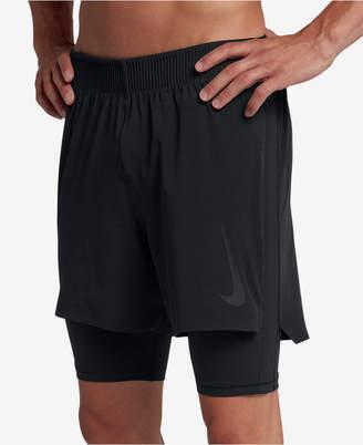 Nike Men's Flex 2-In-1 Training Shorts