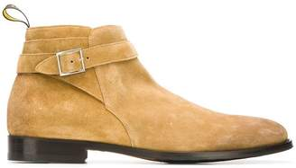 Doucal's buckle detail ankle boots
