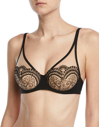 Lejaby Maison Tattoo Full-Cup Lace Bra