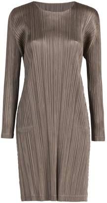 Pleats Please Issey Miyake Sporty Long Sleeve Dress